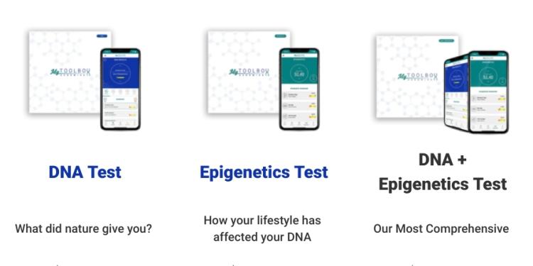 Toolbox Genomics DNA Tests - 7% off with HC7 code